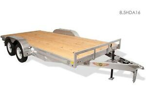 HDA Heavy Duty Aluminum Flat Bed Trailer