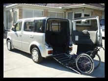2004 Nissan Cube Rear Ramp Silver Automatic Huntingdale Monash Area Preview