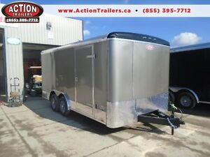 Get this 8X16 Cargo Trailer that is loaded with Extras!!