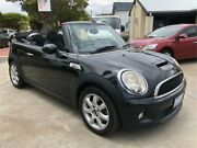 2010 Mini Cooper R57 MY11 S Cabrio Black 6 Speed Automatic Convertible Mount Hawthorn Vincent Area Preview
