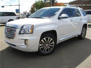 2016 GMC TERRAIN DENALI/DEMO/LOADED/LTHR/NAV/ROOF/EASY FINANCING
