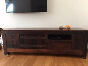 Solid timber beautiful Cabinet/TV unit and coffee table Maroubra Eastern Suburbs Preview