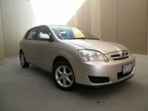 2005 Toyota Corolla ZZE122R 5Y Conquest Silver Metallic 4 Speed Automatic Hatchback Cheltenham Kingston Area Preview