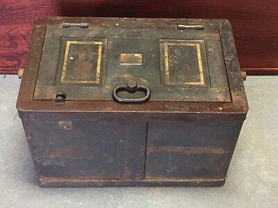 1918 Strong Box / Lock Box / Safe