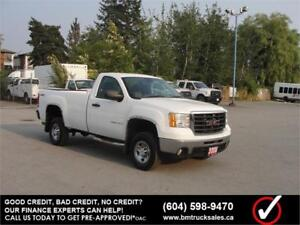2008 GMC SIERRA 2500HD REGULAR CAB LONG BOX 4X4