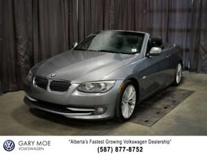 2011 BMW 3 Series Convertible, Nav, $252 BW!
