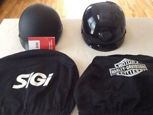 Casques de motos Harley Davidson et Sigi. Neuf