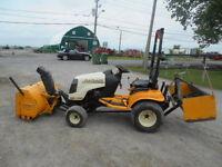 tracteur cub cadet 5234d ( souffleur,gratte )