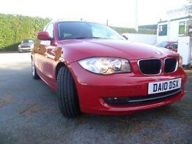 BMW 1 SERIES 2.0 118D SE 5d 141 BHP (red) 2010