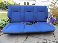 Fiat Doblo rear seat £5.