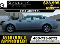 2012 Acura TL V6 $199 bi-weekly APPLY NOW DRIVE NOW
