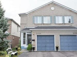 Very Elegant Semi-Detached Home With 3 Bedrooms In Good Location
