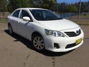 2013 Toyota Corolla ZRE152R MY11 Ascent White 4 Speed Automatic Sedan Homebush West Strathfield Area Preview