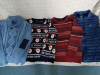 Large bundle of next boys jumpers 10-11 years