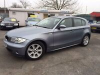 BMW 1 SERIES 1.6 116I SE 5d 114 BHP (blue) 2005