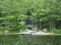 29 acres on Murphy lake with small cottage