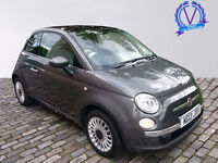 FIAT 500 1.2 Lounge 3dr [Start Stop] (grey) 2013