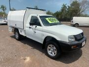 2005 Mitsubishi Triton GXL White 5 Speed Manual Cab Chassis Holtze Litchfield Area Preview