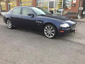 2008 Maserati Quattroporte|NAV|CAM|SUNROOF|LEATHER|NO ACCIDENTS Oakville / Halton Region Toronto (GTA) image 7