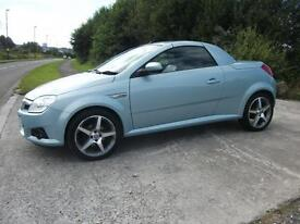 VAUXHALL TIGRA 1.4 EXCLUSIV 16V RED 2d 90 BHP (silver) 2008