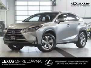 2016 Lexus NX 300H Hybrid w/Executive Package