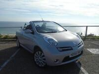 Nissan Micra C+C 1.6 16v Active Luxury 2dr (silver) 2006