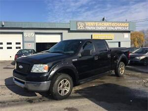 FORD F 150 2007 4X4 BUSH WALKER ET PNEUS D HIVER INCLUS