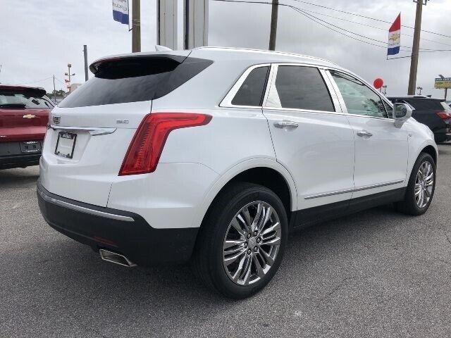 2017 Cadillac XT5 Premium Luxury FWD WHITE SUV 3.6L V6 DI VVT Engine Automatic