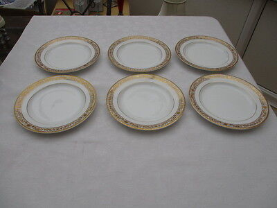 bhs british home stores regency 6 salad plates very good used condition