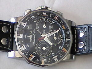 CORUM 44mm CHRONOGRAPH ADMIRAL'S CUP AUT.DATE CHRONOMETER WATCH