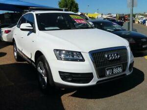 2010 Audi Q5 8R MY11 TFSI S Tronic Quattro White 7 Speed Sports Automatic Dual Clutch Wagon