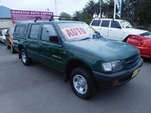 2000 Holden Rodeo TFR9 LX Green 4 Speed Automatic Crewcab Waratah Newcastle Area Preview