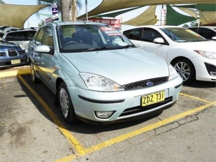 2003 Ford Focus LR MY2003 CL Silver 4 Speed Automatic Sedan Minchinbury Blacktown Area Preview