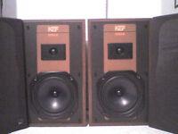 50W KEF Coda 3 Stereo Speakers - Heathrow