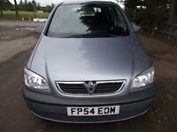 VAUXHALL ZAFIRA 1.8 LIFE MPV 7 SEATER MPV 54 REG,, IDEAL FAMILY CAR ,, MOT APRIL 25TH 2019