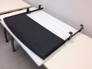 5 Pull out keyboard trays in melamine for sale. 15$ each.