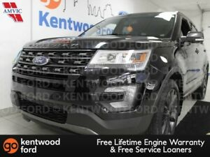 2017 Ford Explorer XLT 4WD, sunroof, power heated leather seats,