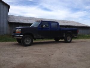 1997 Ford f250 Crew Cab Short Box Diesel