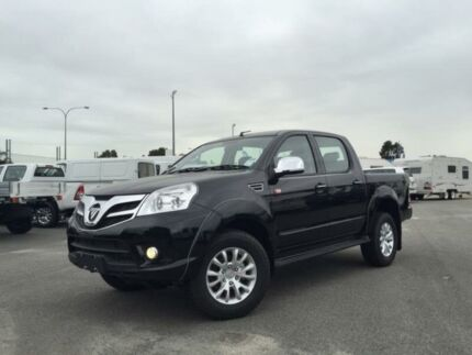 2015 Foton Tunland P201 MY14 TL (4x4) Black 5 Speed Manual Dual Cab Utility Kenwick Gosnells Area Preview