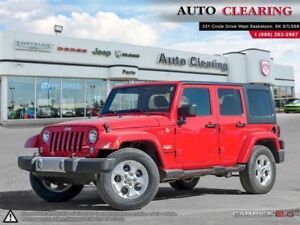2015 Jeep Wrangler Unlimited SAHARA / AUTO