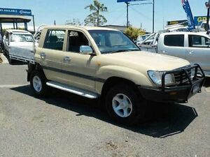 2000 Toyota Landcruiser FZJ105R GXL Beige 4 Speed Automatic Wagon Archerfield Brisbane South West Preview