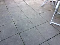 Paving stone approx 80 of 600 x 600 paving slabs paving stones
