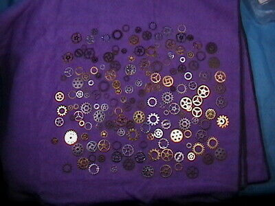165 +pcs. BAG OF GEARS & Cogs Steampunk Jewelry / Hat Accessories Costume CRAFT