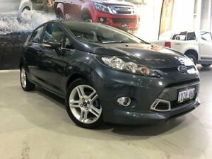 2012 Ford Fiesta WT Zetec Grey 6 Speed Automatic Hatchback Rockingham Rockingham Area Preview