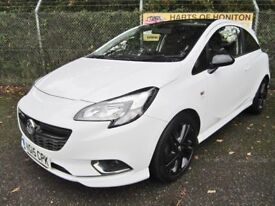 Vauxhall Corsa 1.4 Limited Edition 3DR (white/black roof) 2015
