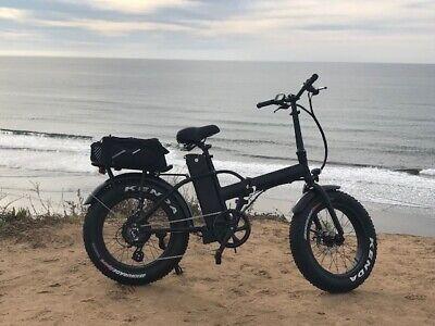 BEST 548 Folding Fat Tire Electric Bike
