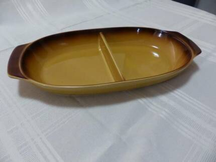 Ceramic divided baking/ serving dish Riverton Canning Area Preview