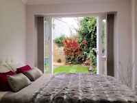 Beautiful Double Room with own Shower Room and Direct Garden Access. Short/Long Term/Mon-Fri
