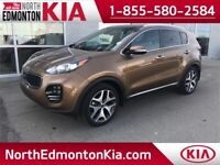 2017 Kia Sportage SX Turbo | LEATHER | NAVI | SUNROOF | Edmonton Edmonton Area Preview