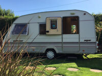 ULTRA RARE DISABLED ACCESS SPRITE SUPER MUSKETEER 2 BERTH TOURING CARAVAN